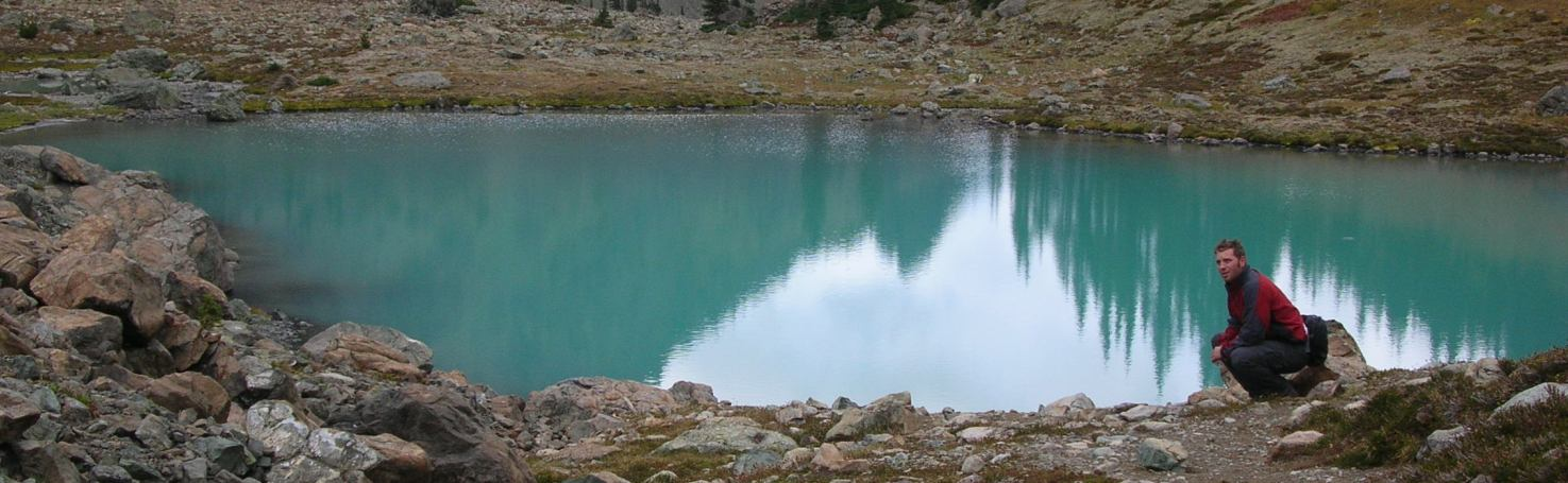 Upper Royal Lake in the Olympic Mountains